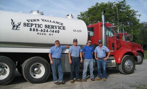 Vern Vallance Septic Technicians